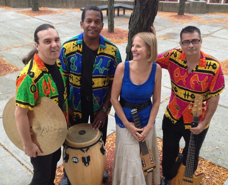 Renowned music ensemble Tropicante will perform a variety of Latin dance music during a concert from 8-10 p.m. on February 8 in the Student Union on Jamestown Community College's Jamestown Campus.