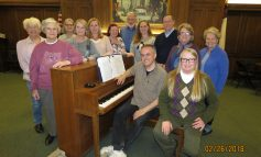 "Jamestown Choral Society and Friends will present a choral concert ""Music, Sing On!"""