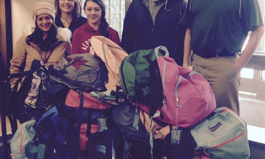 JHS Benefits from a Youth Group's Generosity