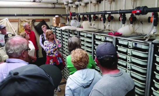 52 Participants Enjoy Audubon Exclusive: Kinzua Dam and Allegheny National Fish Hatchery Tours