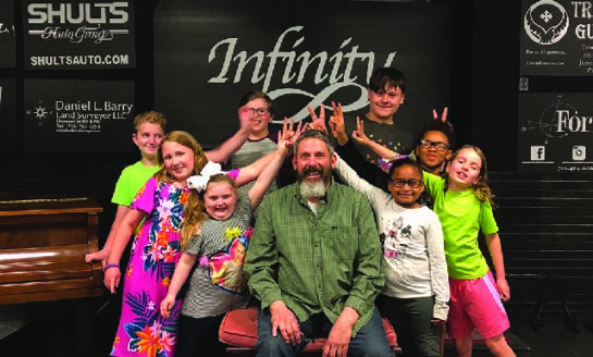 Mark Mincarelli To Spend Summer Fundraising for Infinity Center!